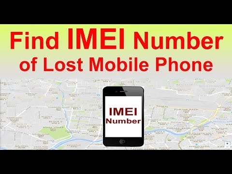 Can I recover my lost mobile device by IMEI number?