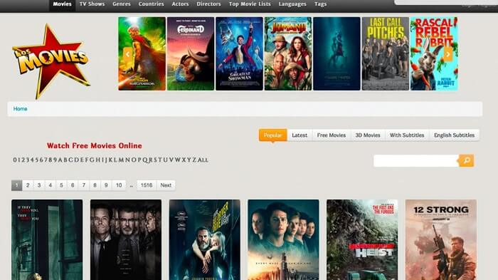 20 Best Alternatives to LosMovies in 2021 that are 100% Working!